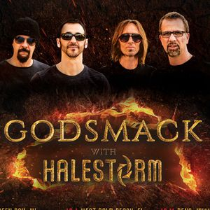 Godsmack & Halestorm @ Intrust Bank Arena