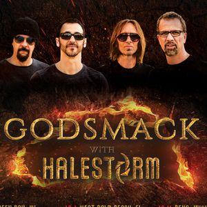 Godsmack & Halestorm @ Intrust Bank Arena