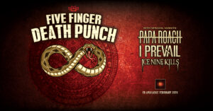 Five Finger Death Punch w/ Papa Roach, I Prevail, & Ice Nine Kills @ Sprint Center