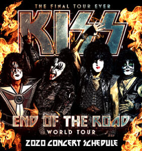 KISS End of the Road Tour @ Intrust Bank Arena