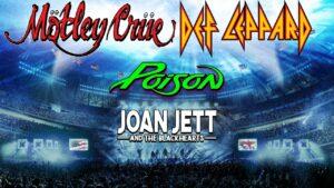 Motley Crue and Def Leppard w/ Poison @ Kauffman Stadium