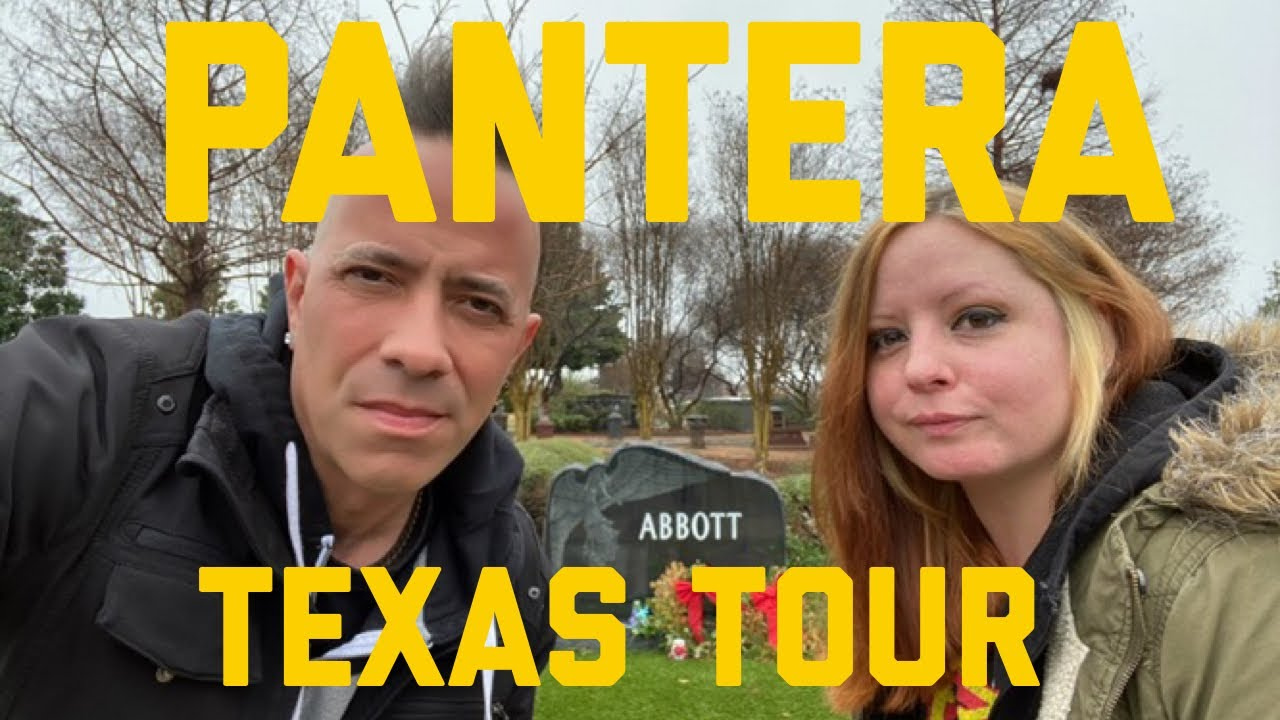 PANTERA Texas Video Tour: Childhood Home, DIMEBAG's House And Final Resting Place