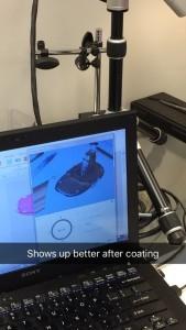 scan 2, after coating