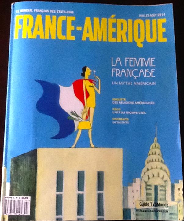 Sabine Watson Featured Article France Amerique