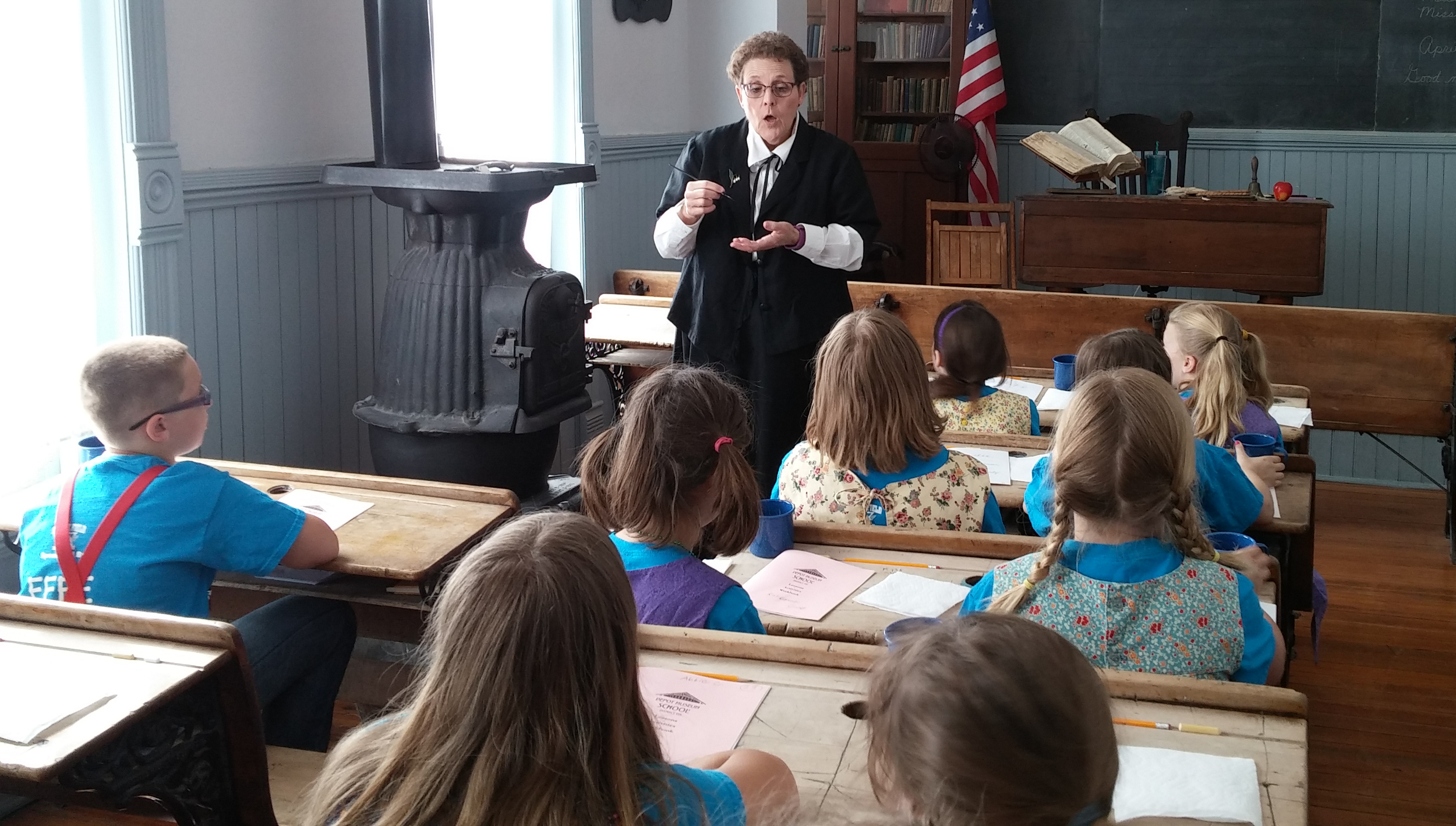 One-Room School at the Old Depot Museum
