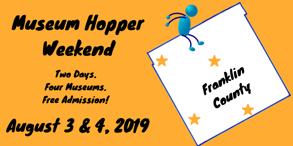 Museum Hopper Weekend on August 3 & 4