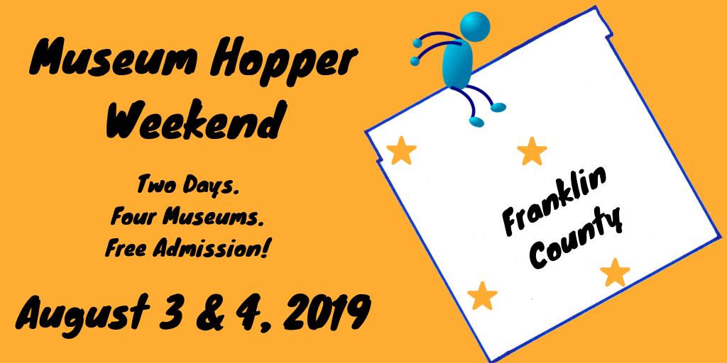 Museum Hopper Weekend on August 3 & 4