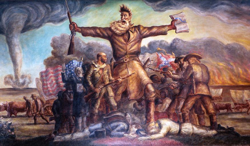 John Brown, as painted by John Steurt Curry.