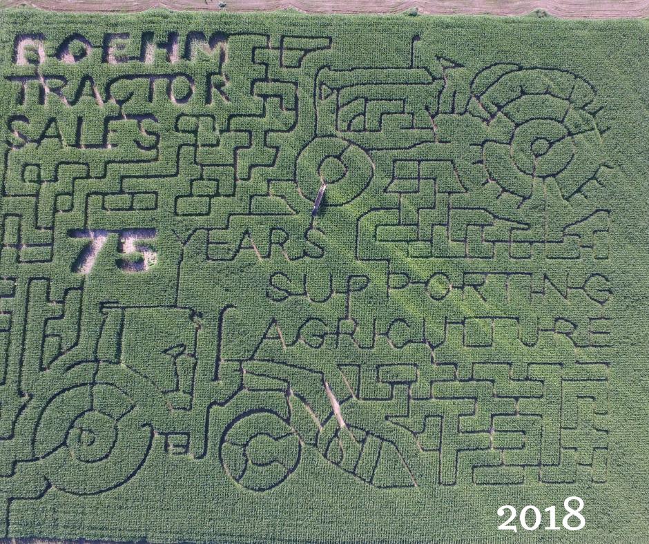2018 maze design