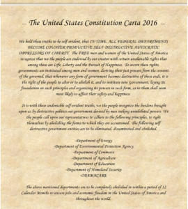 The Constitution Carta