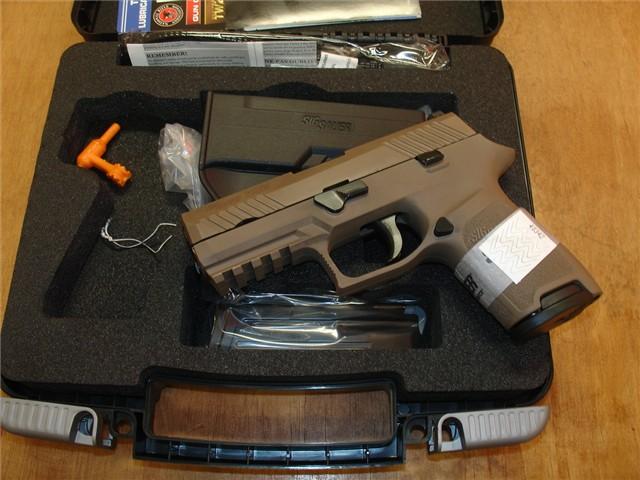 Sig P320 Compact 9mm FDE 320c-9-fde NEW Arvada CO