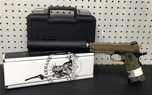 NFA Sig 1911 Carry Scorp w/ AAC TI-RANT SOLD