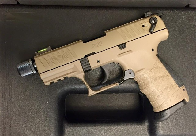 Walther P22 Tactical FDE 512.03.53 NEW Arvada CO