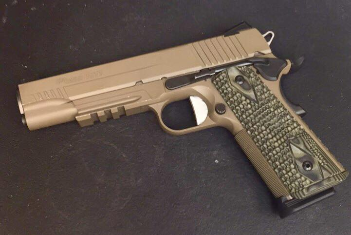 Sig 1911 Scorpion .45 ACP FDE Arvada CO SOLD