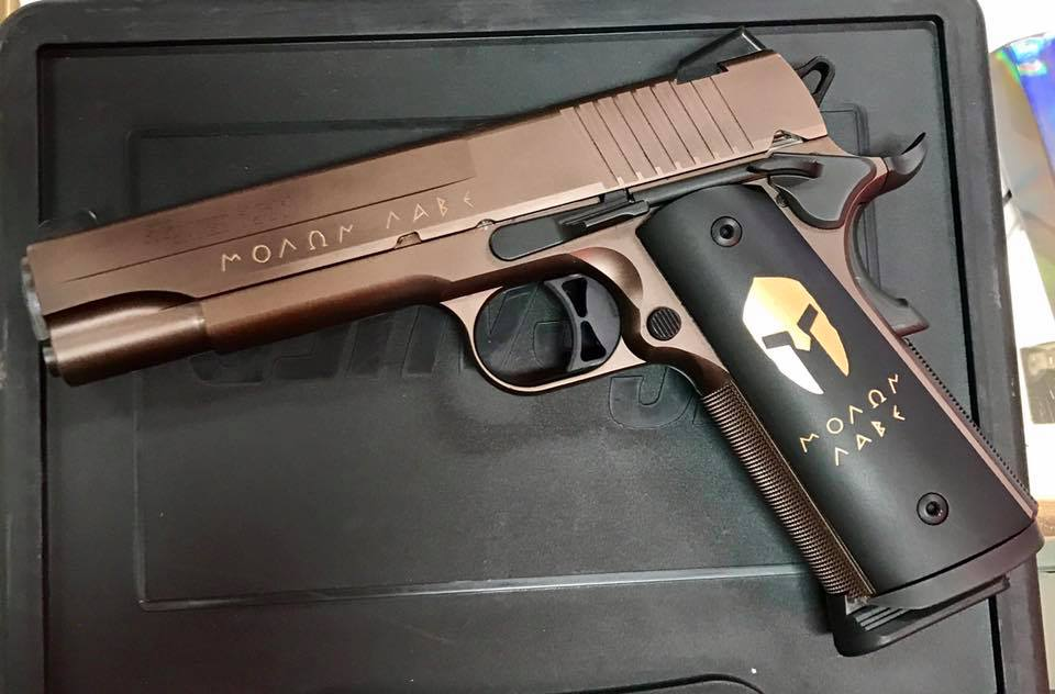 Sig Sauer 1911 5″ Spartan Bronze .45 ACP Arvada CO SOLD