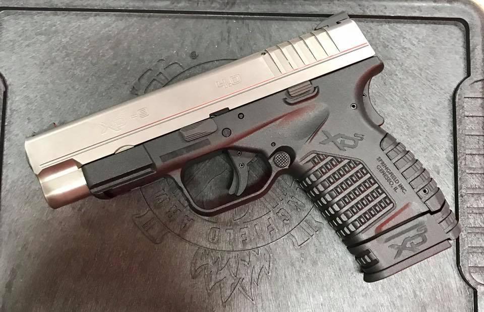 Springfield XD-S Bi-tone 9mm 4″ Arvada CO SOLD