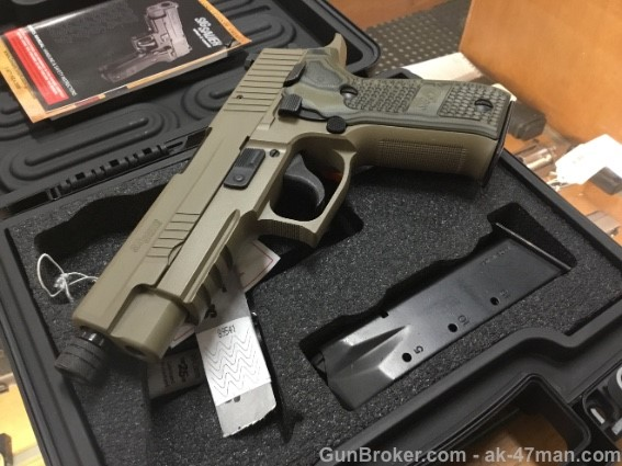 Sig Sauer P226 9mm scorpion w/ threaded bbl Arvada CO SOLD
