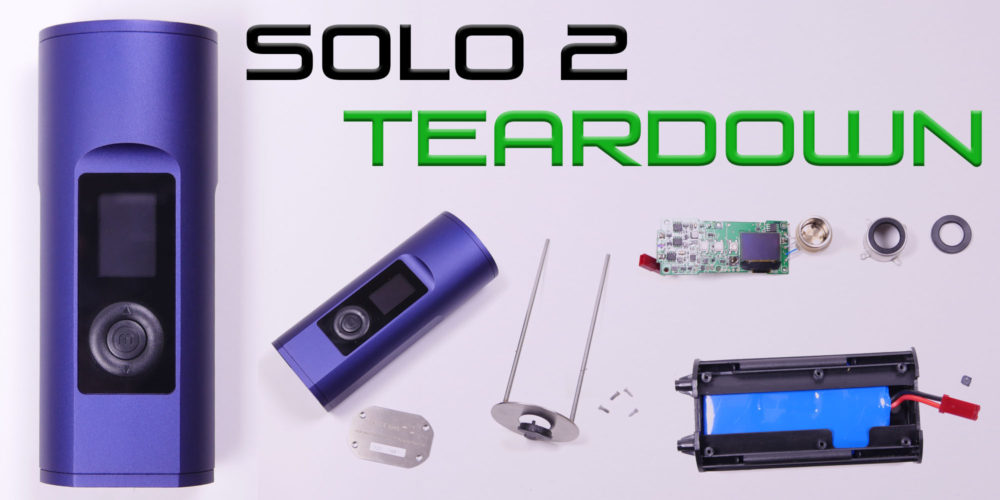 solo 2 portable vaporizer teardown