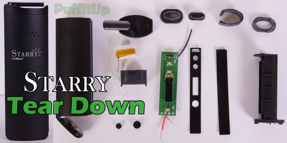 starry portable vaporizer main teardown