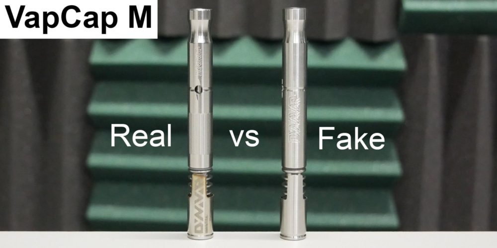 dynavap vapcap m vaporizer real vs fake comparison