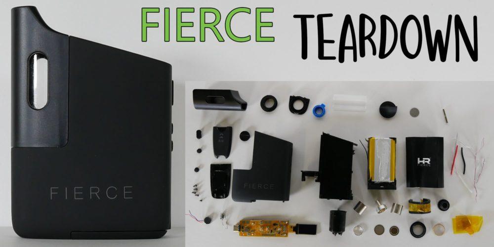 fierce vaporizer teardown
