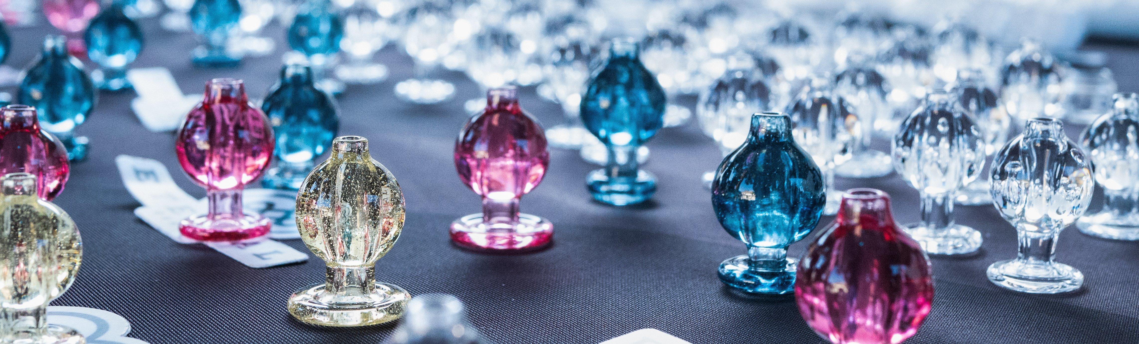 Glass pieces by eternal quartz glass