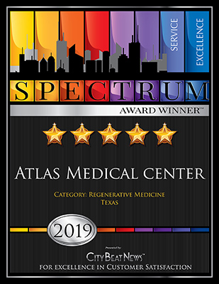 Atlas Medical Center was a 2019 Spectrum Award Winner for Excellence in Customer Service