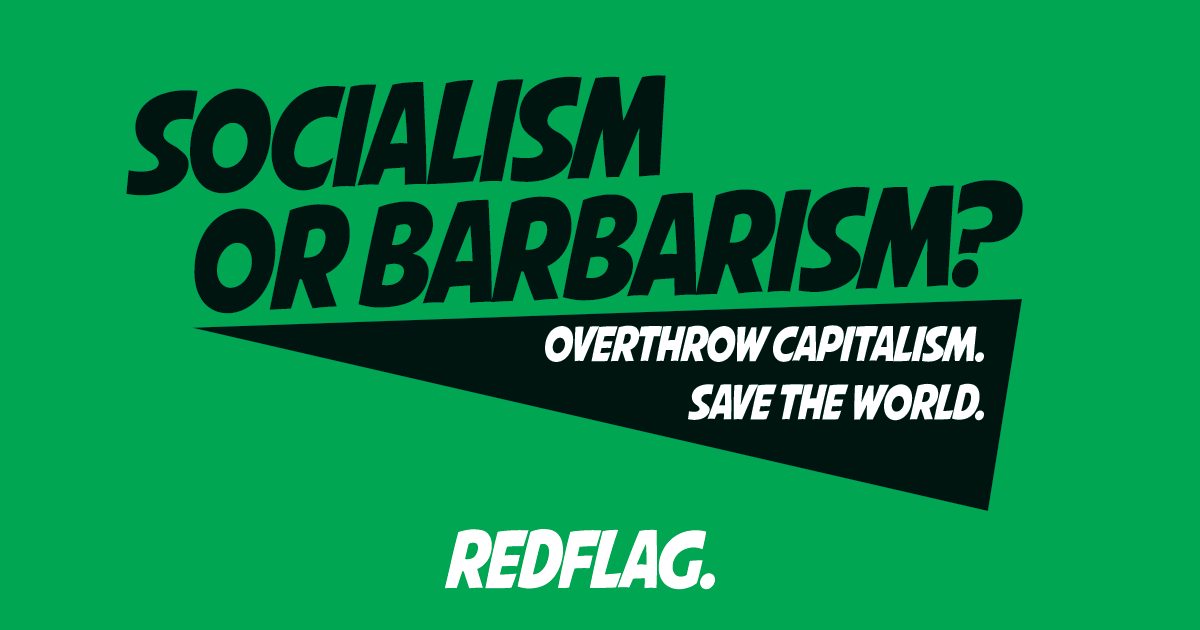 Overthrow Capitalism – Save the World