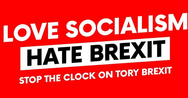 'Love Socialism Hate Brexit' – leftwing MPs call for final say