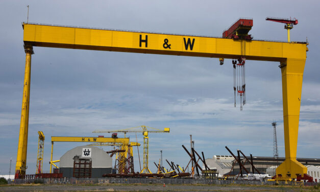 Support the occupation, nationalise Harland & Wolff