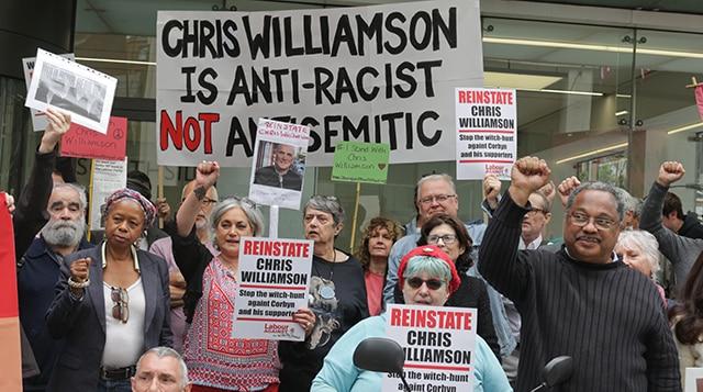 Reinstate Chris Williamson