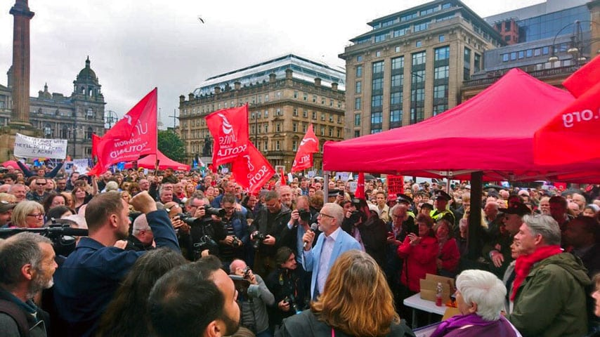 Labour: fight to win – then fight for power