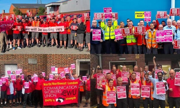 Postal workers smash reballot – but should the coronavirus crisis block action?