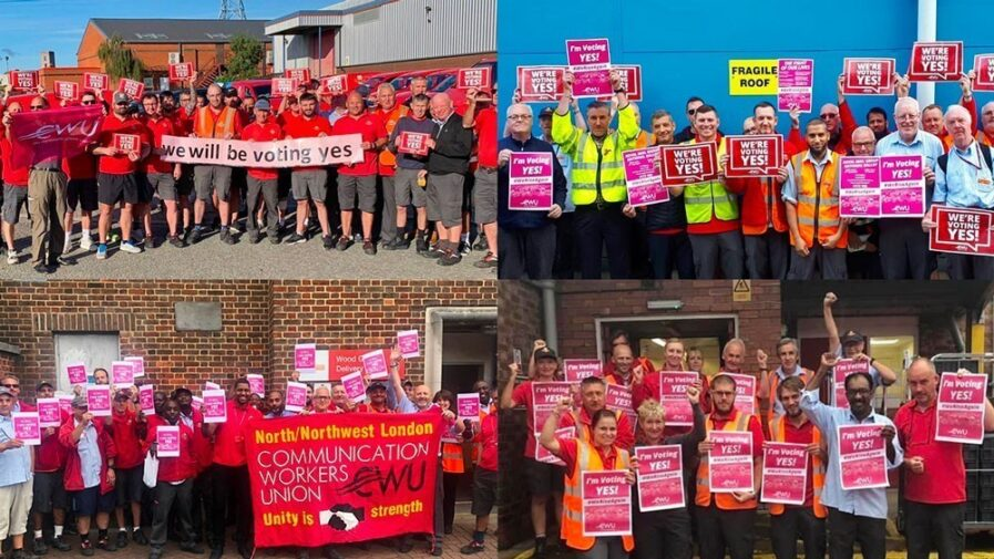 Royal Mail offensive forces CWU union to call strike ballot