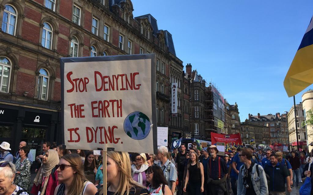 Huge Turnout for Leeds Climate Protest