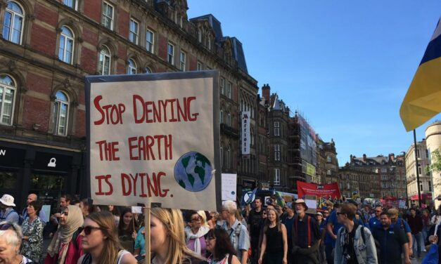Huge Turnout for Leeds Climate Protest
