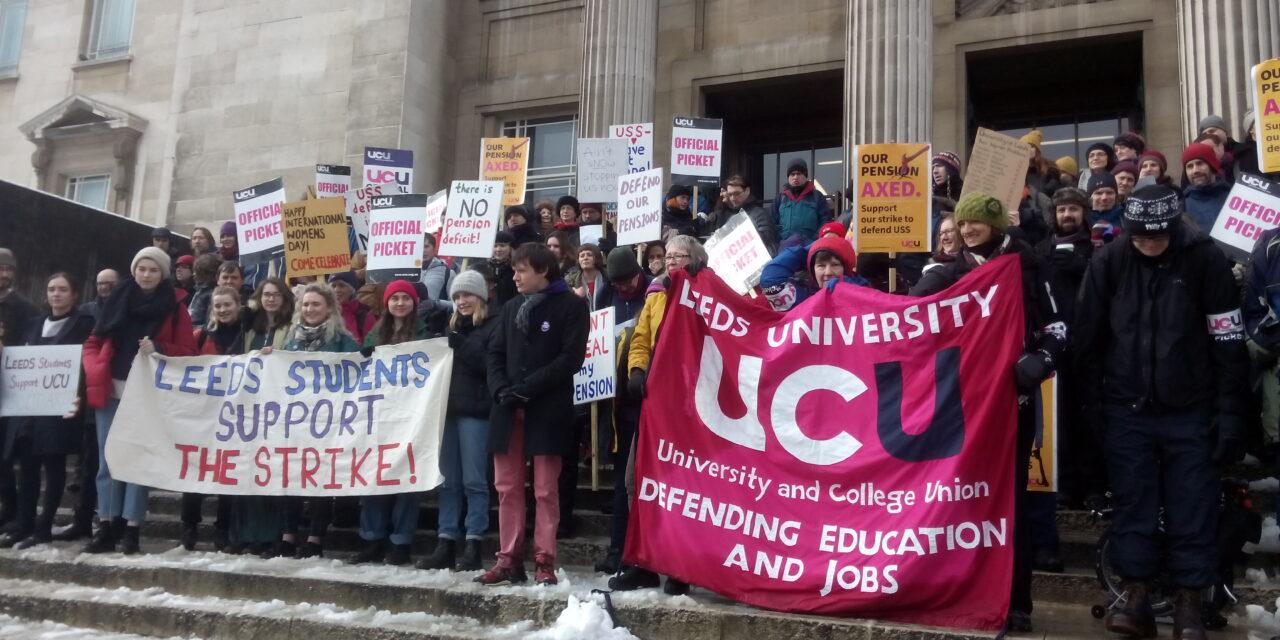 University staff to strike from 25 November