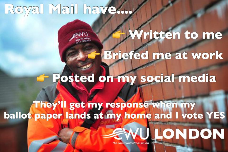 CWU: Vote Yes and prepare to fight