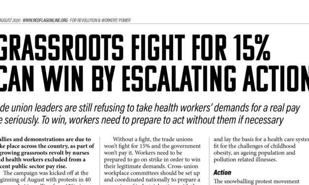 Bulletin | Grassroots fight for 15% can win by escalating action