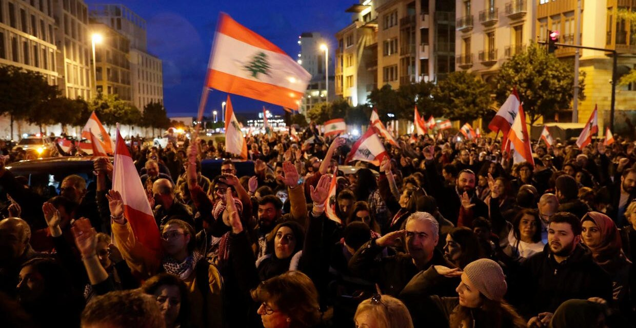 Lebanon: The revolution has begun
