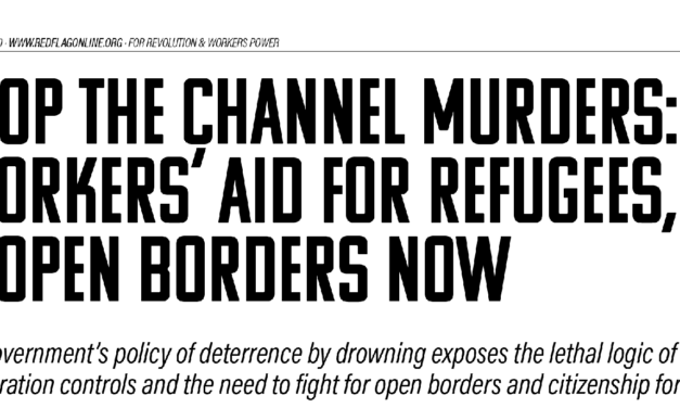 Bulletin | Solidarity with Channel REfugees