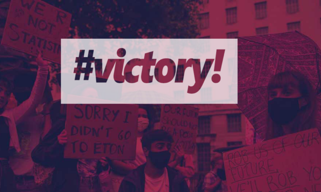 Victory for students but fight goes on