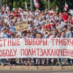 Belarus protests at an impasse after ten weeks