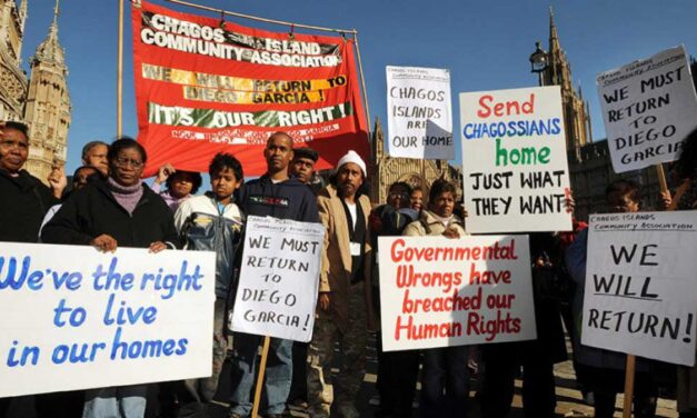 End Britain's colonisation of the Chagos Islands