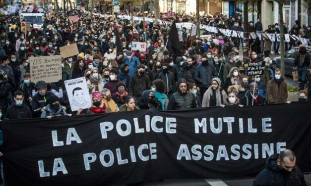 France: down with the 'security' laws and police impunity!