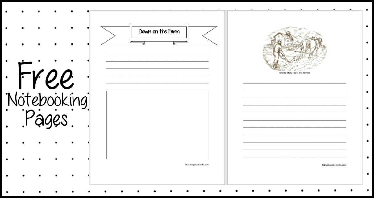 Farm Notebooking Page