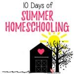 Summer Homeschooling in the Garden