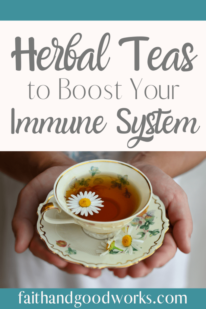 herbal teas to boost your immune system.