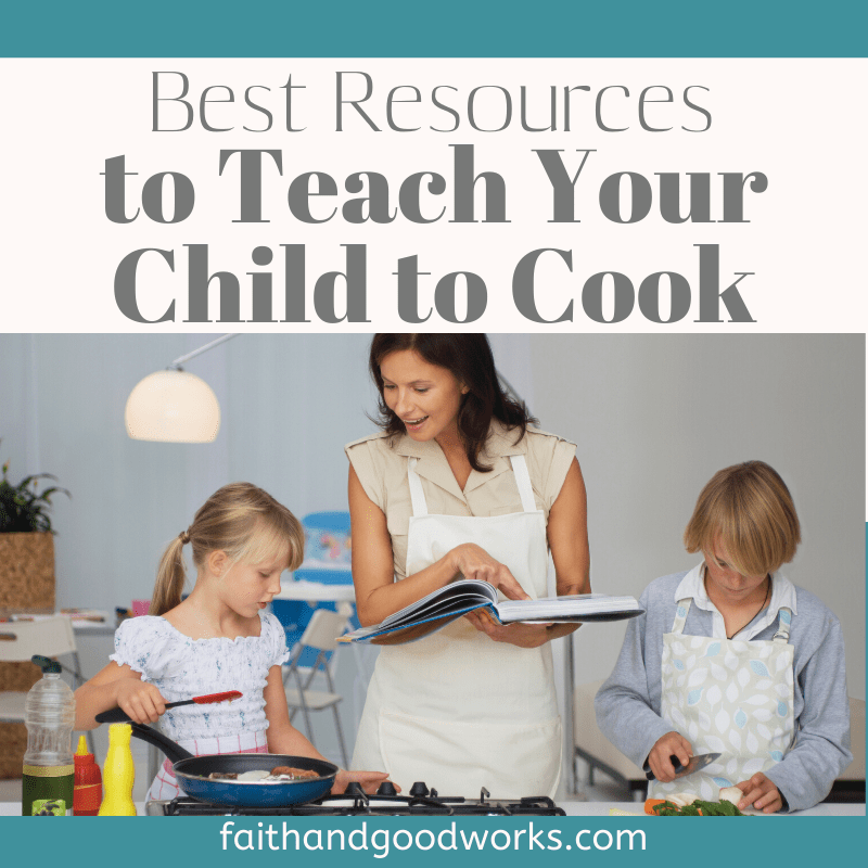 teaching your child to cook
