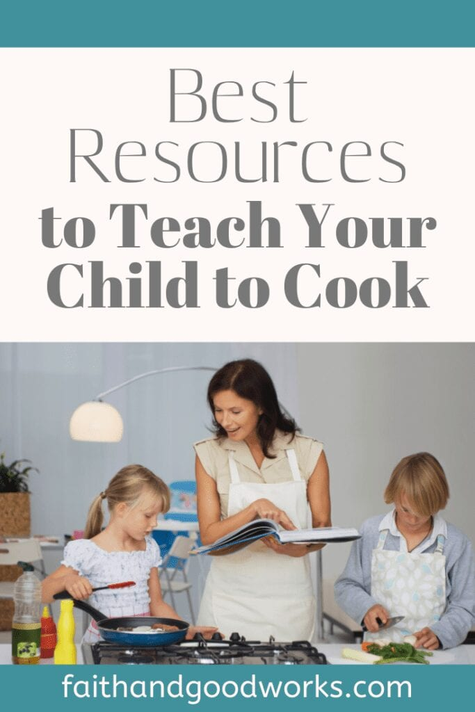 teach your child to cook.